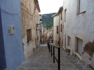 Calles mágicas en Biar